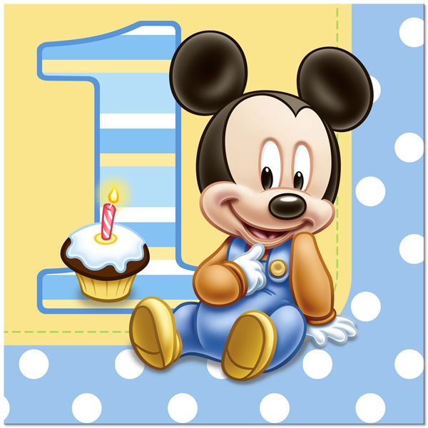 Baby Mickey's 1st Party