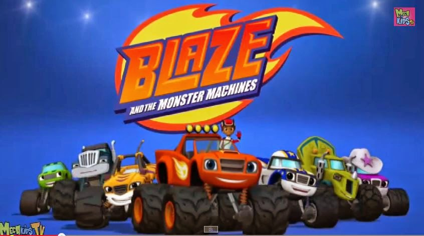 Blaze And The Monster Machines Party Theme Inspired Blaze Truck