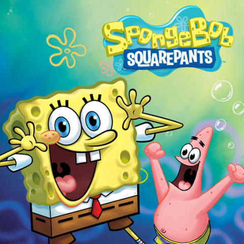 LOT OF 2 PARTY SUPPLIES SPONGEBOB BUDDIES HAPPY BIRTHDAY BANNER 5 FT