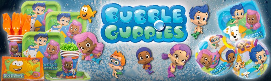 Bubble Guppies Party