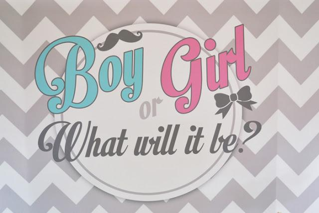 Gender Reveal Baby Shower