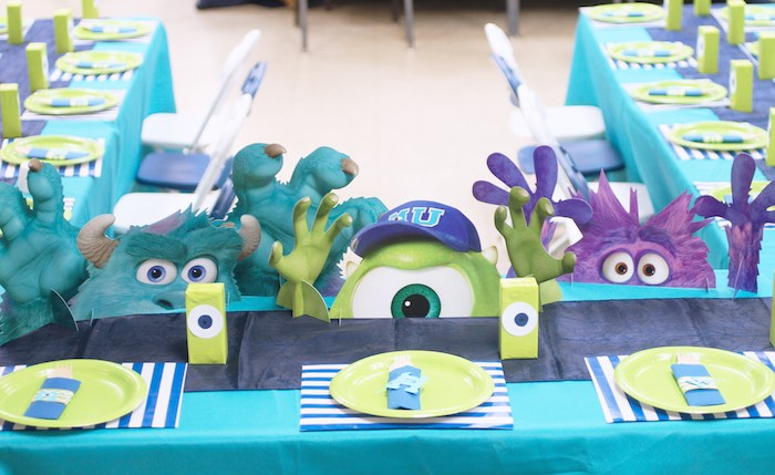 Monsters University Inc. Party