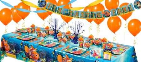 Finding Nemo Birthday Party Decorations  from inspiredthemes4u.files.wordpress.com