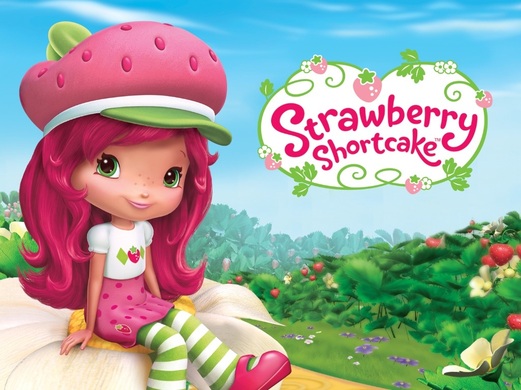 strawberry shortcake favors strawberry shortcake party decor 12 Strawberry shortcake treat bag toppers strawberry shortcake party theme