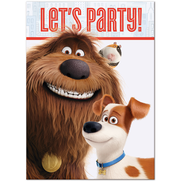 """17pc The Secret Life of Pets /""""Fetch Like You Mean It/"""" Birthday Balloons"""