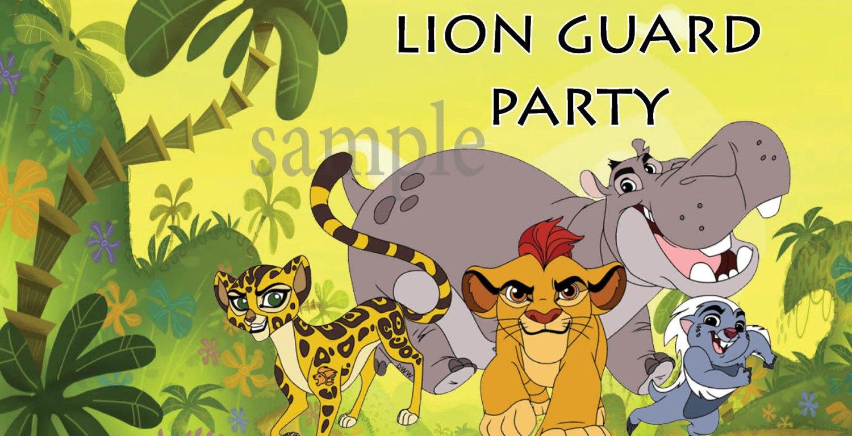 The Lion Guard Party
